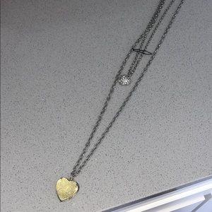 Aeropostale Double Necklace